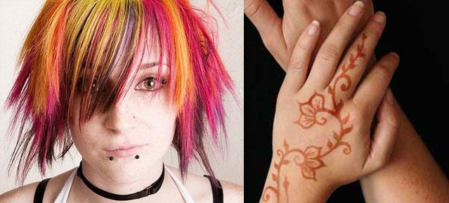Henna & Hair Colours